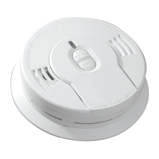 KIDDE WORRY FREE SMOKE ALARM W/HUSH 10YR SEALED LITHIUM